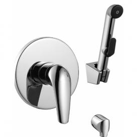 KRINICE набор VR15110Z-ВТ(смеситель скрытого монтажа с гигиеническим душем)