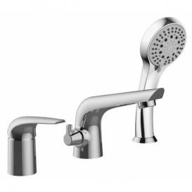 KRINICE 85110 змішувач для ванни, виразний, на три отвори, хром, 35 ??мм / купити в Києві, безкоштовно доставка, НоваПошта /